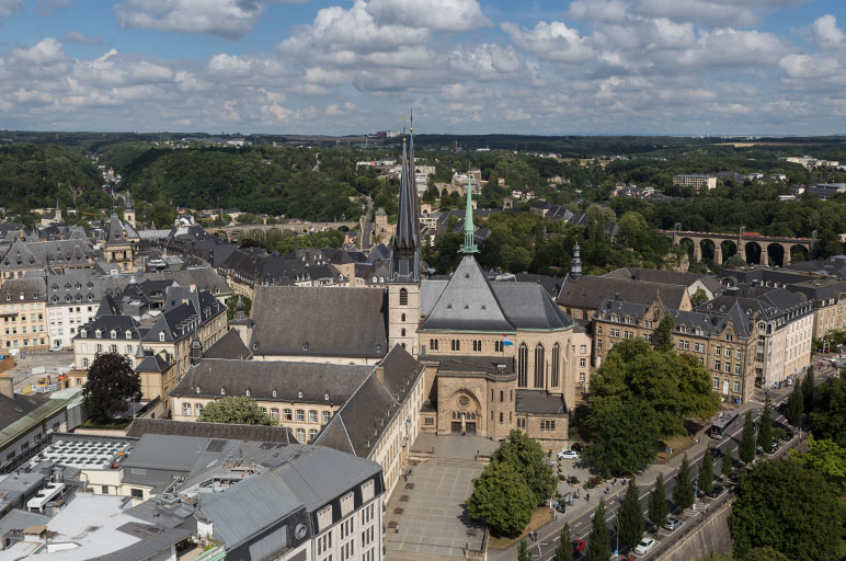 Aerial photos of Luxembourg