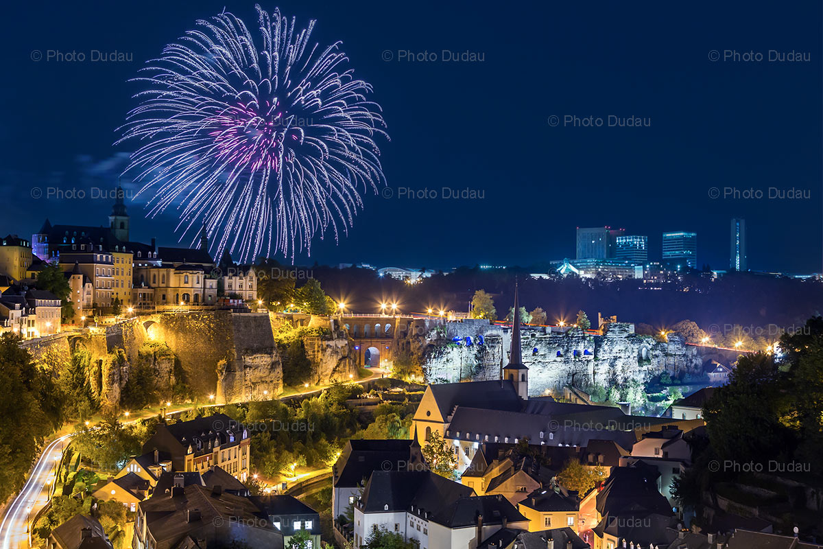 Luxembourg Fireworks
