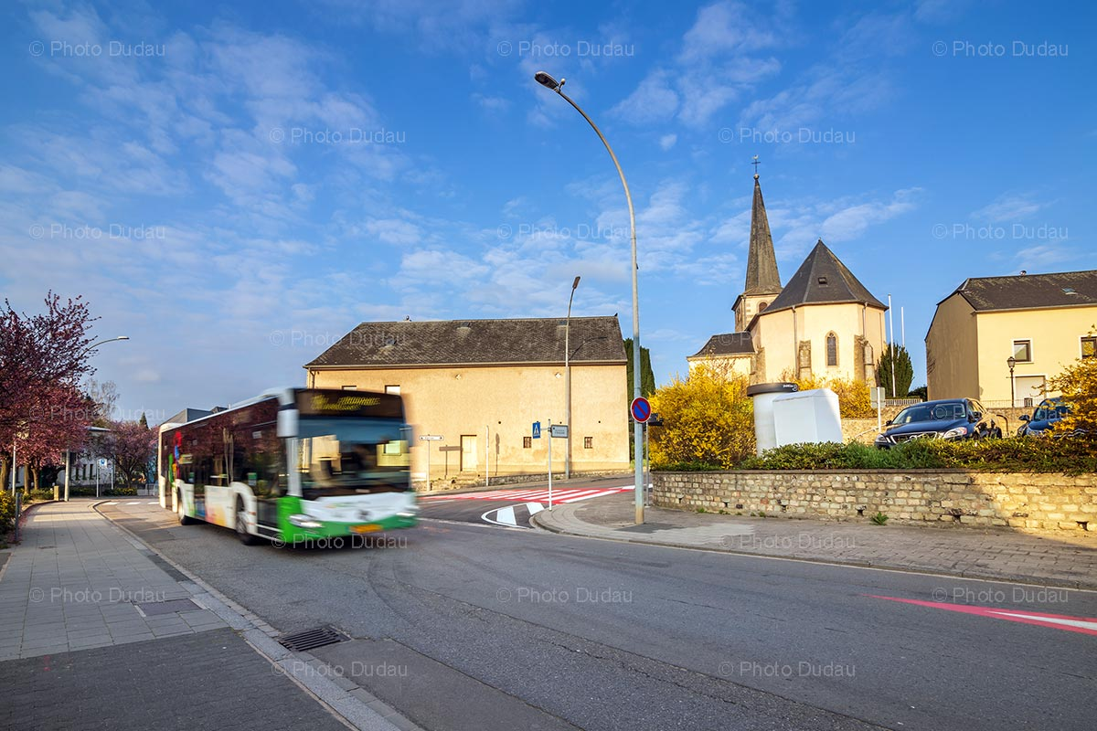TICE bus in Sanem