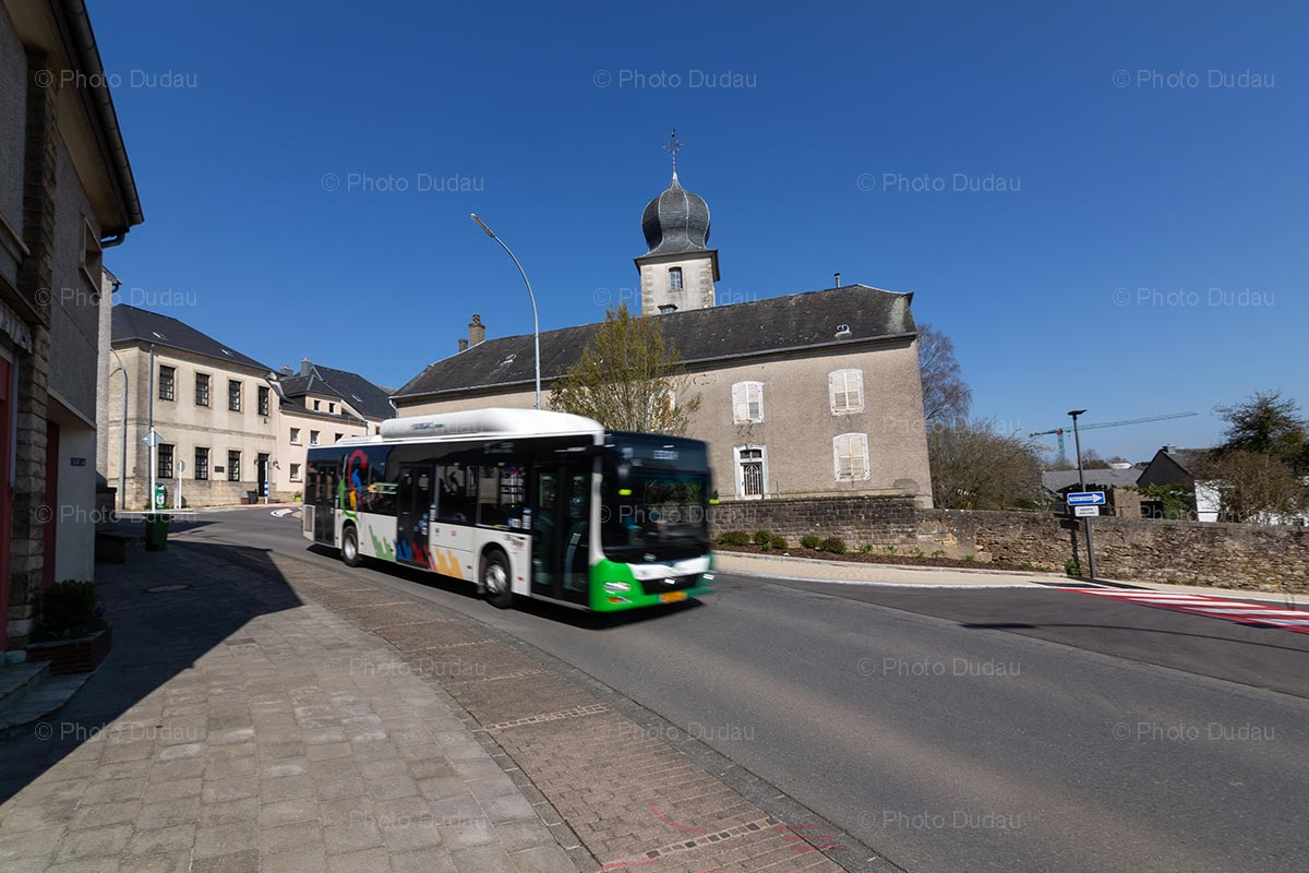 TICE bus in Hautcharage