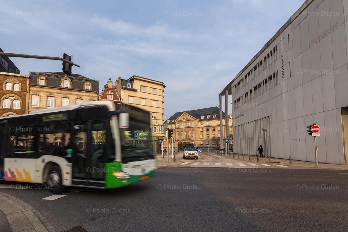 Bus in Esch-sur-Alzette