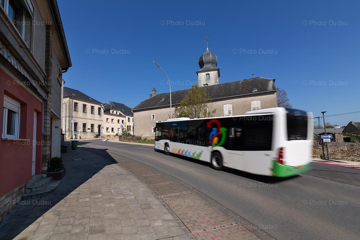 TICE bus in Kaerjeng