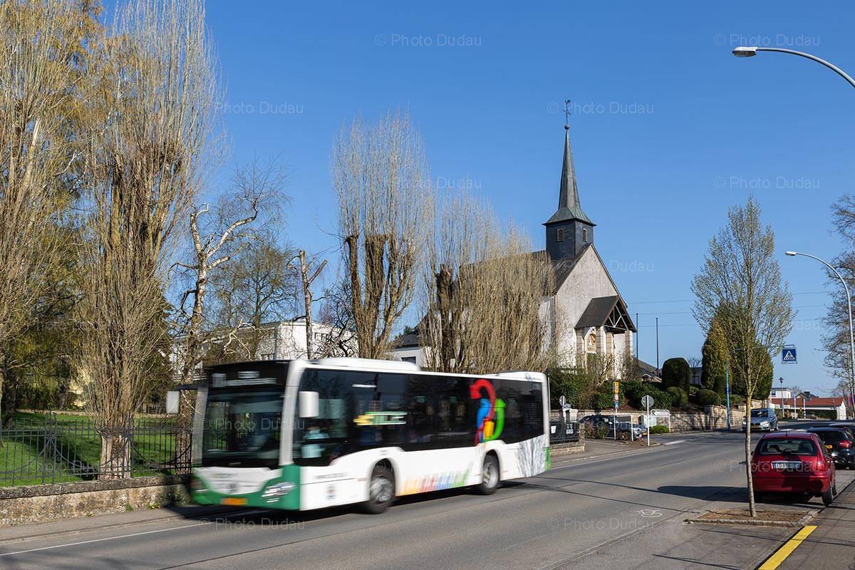 TICE bus in Pontpierre