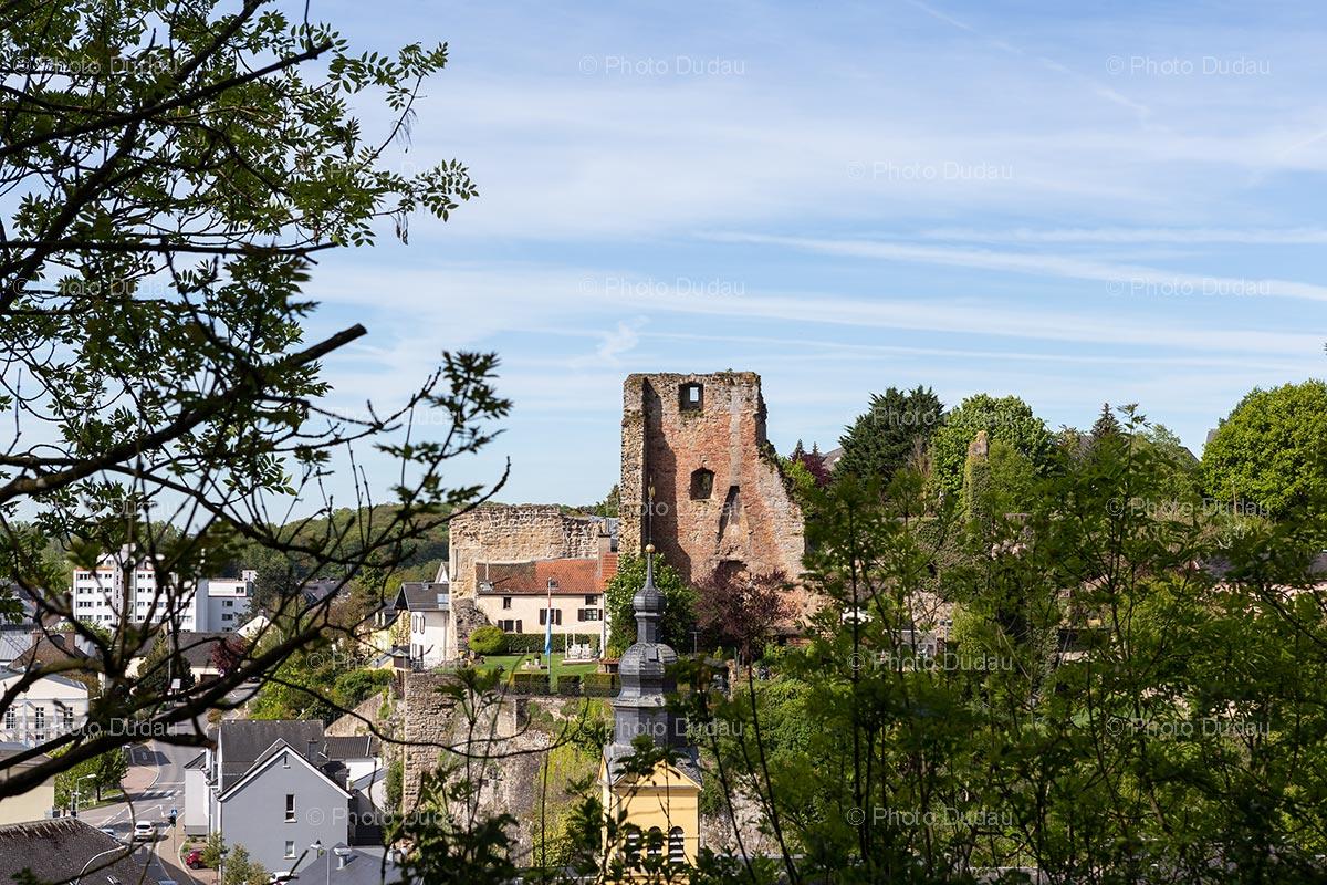 Hesperange castle in Luxembourg
