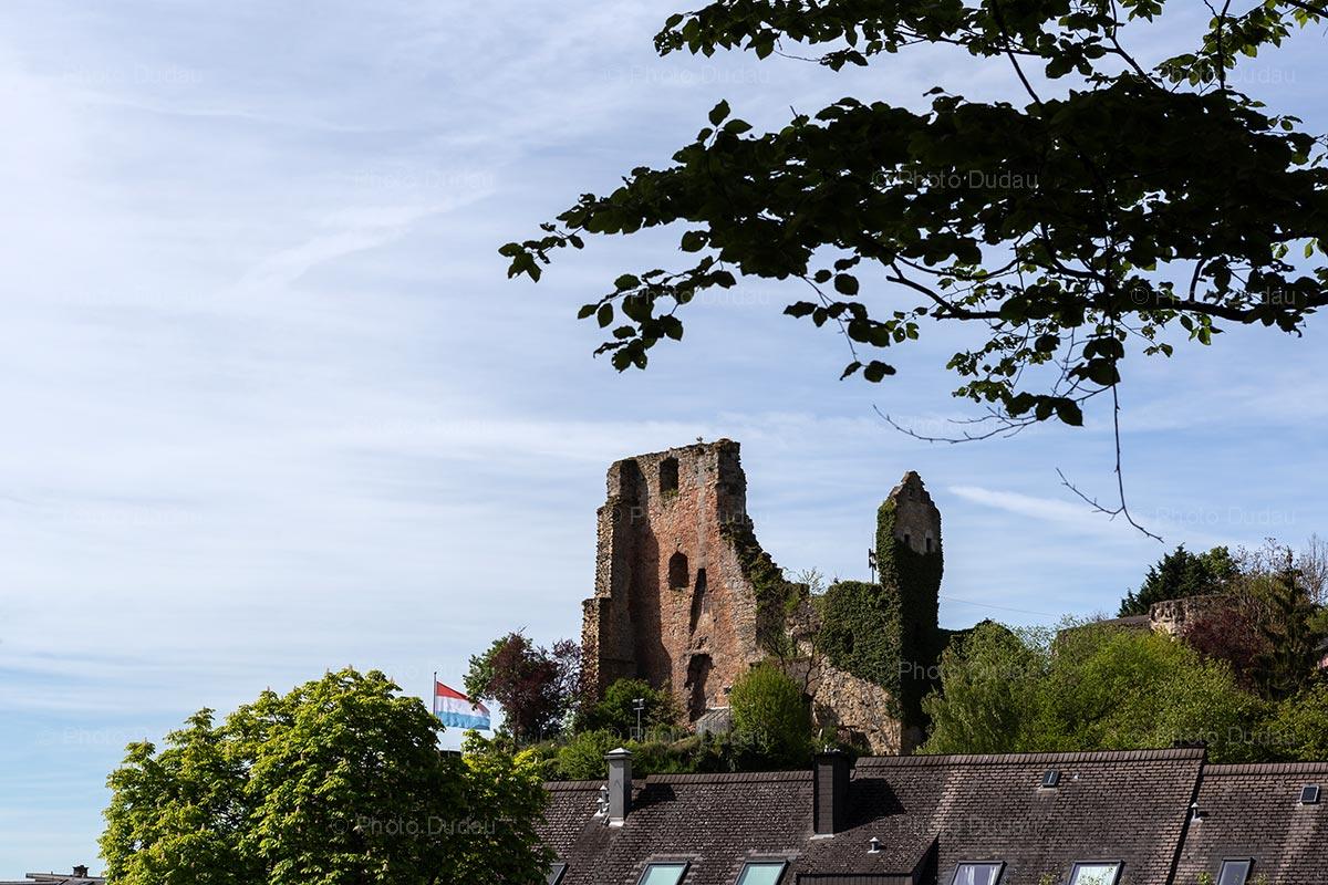Hesperange castle ruins