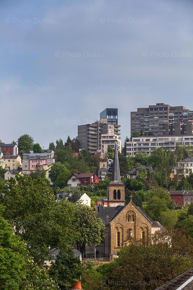 Weimerskirch quarter in Luxembourg