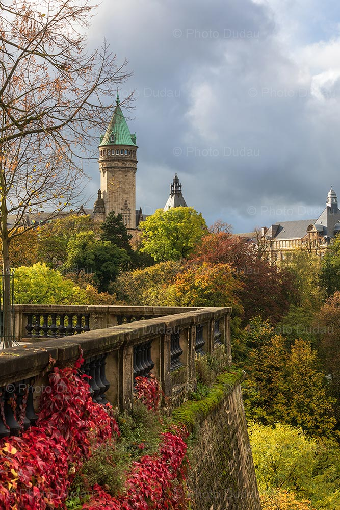 Autumn in Luxembourg city