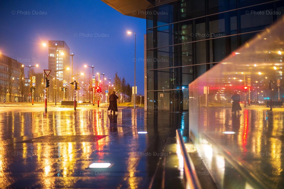 Rainy night in Kirchberg