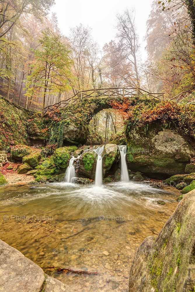 Mullerthal waterfall Schiessentümpel