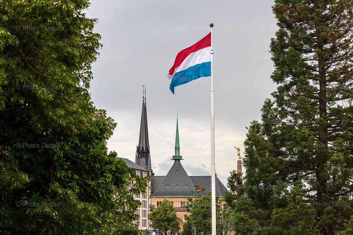 Symbols of Luxembourg city