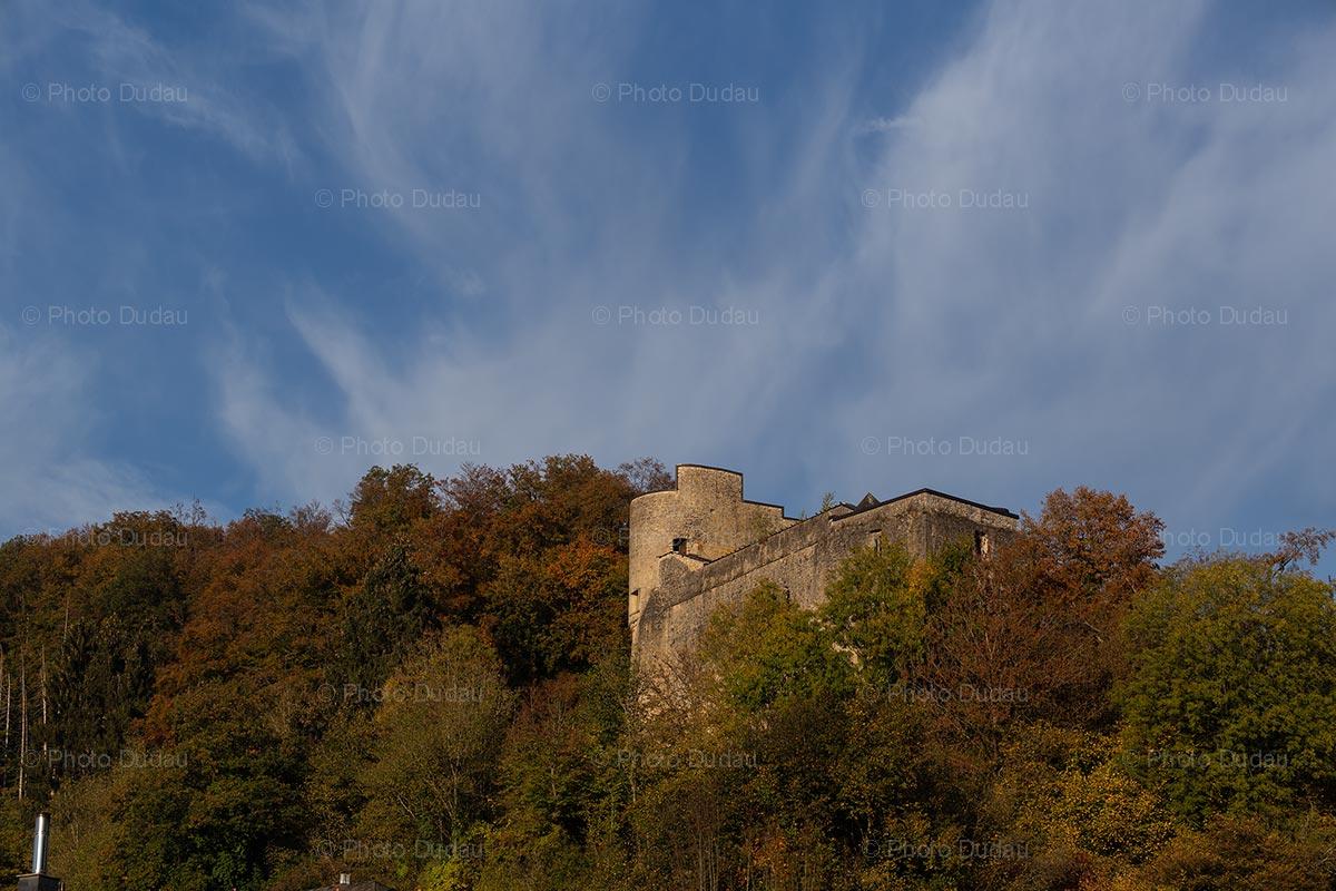 Buerg vu Simmer castle in Septfontaines