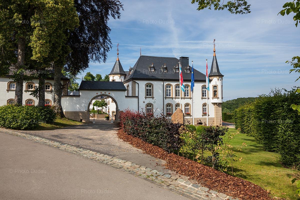 Urspelt Castle in Luxembourg