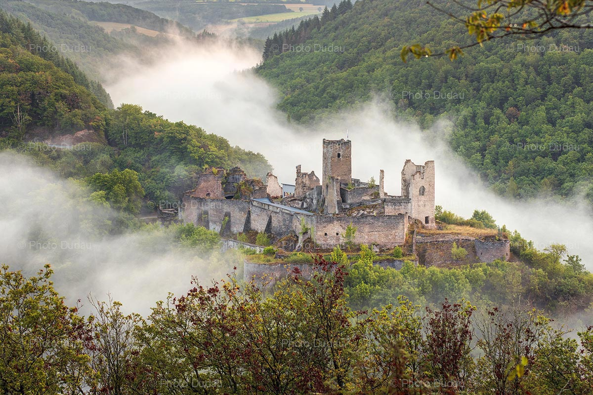 Brandenbourg Castle in Luxembourg