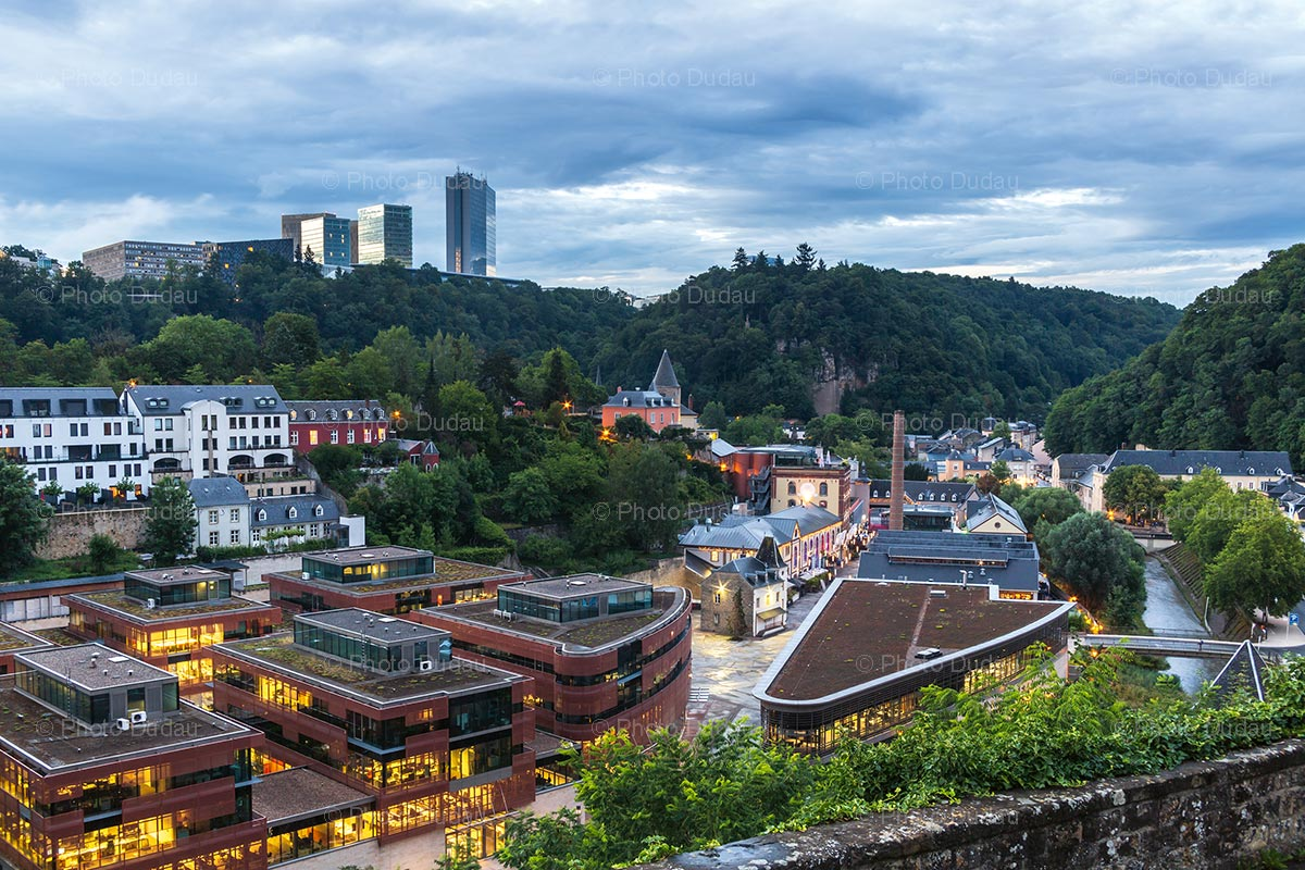 Clausen in Luxembourg city