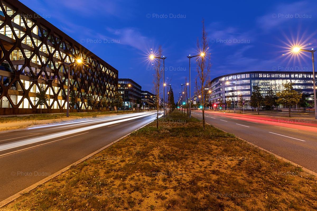 Avenue John F Kennedy in Kirchberg