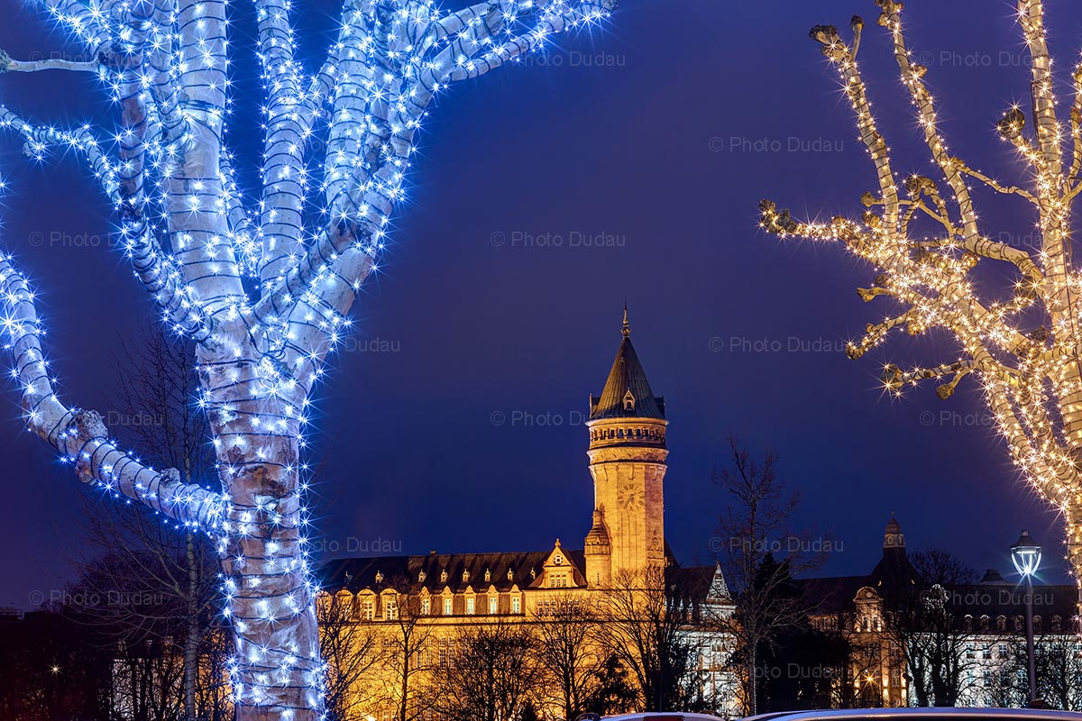 Christmas ornaments in Luxembourg