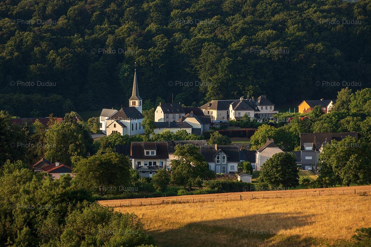 Fouhren village in Luxembourg