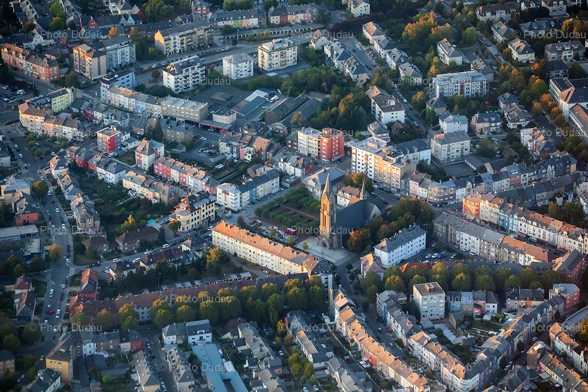 Esch-sur-Alzette aerial view