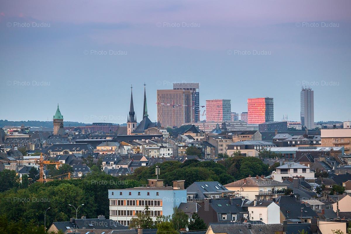 Urban Luxembourg city