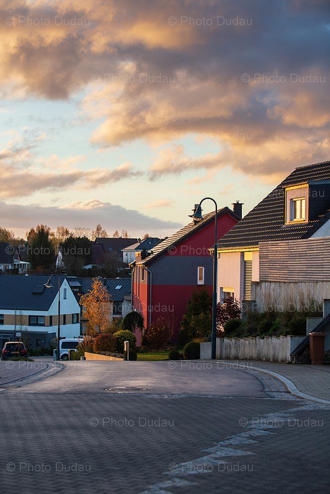 Sunrise in Junglinster