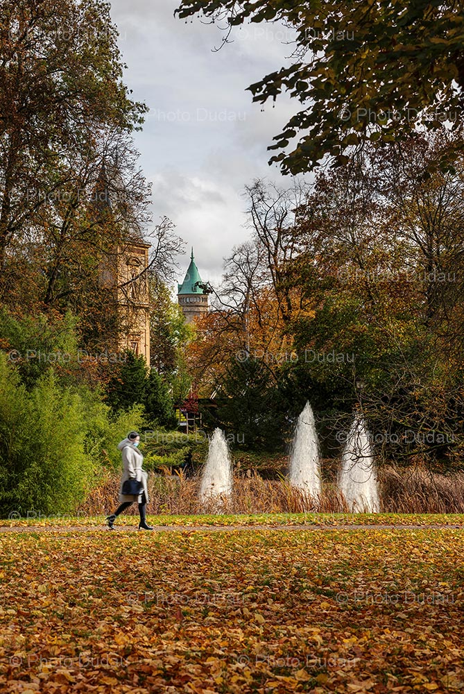 Autumn in Municipal Park, Luxembourg city
