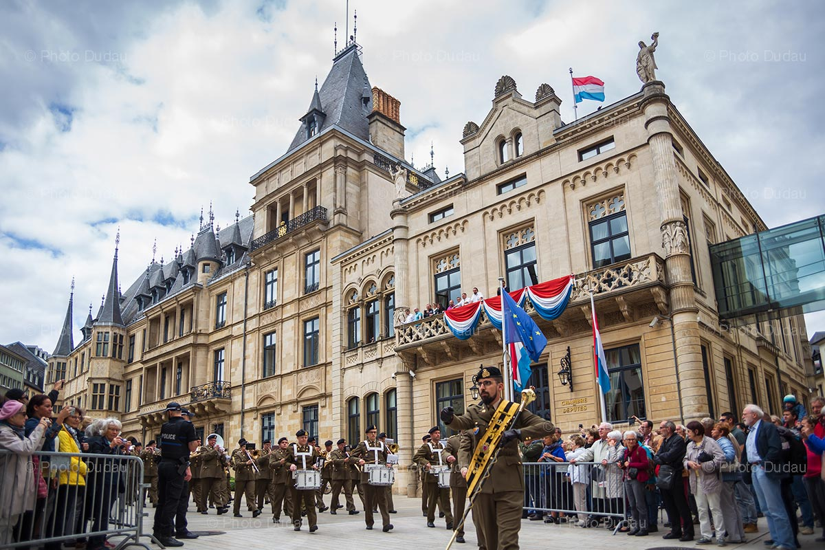 Changing of the Guards on Luxembourg National Day
