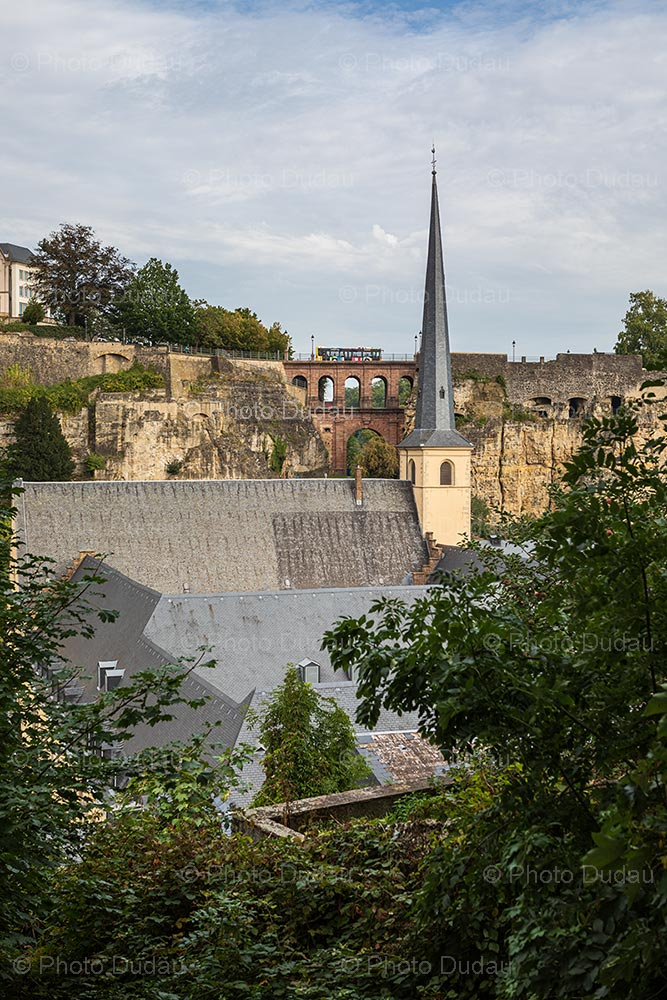 Neumunster Abbey and ruins in Luxembourg