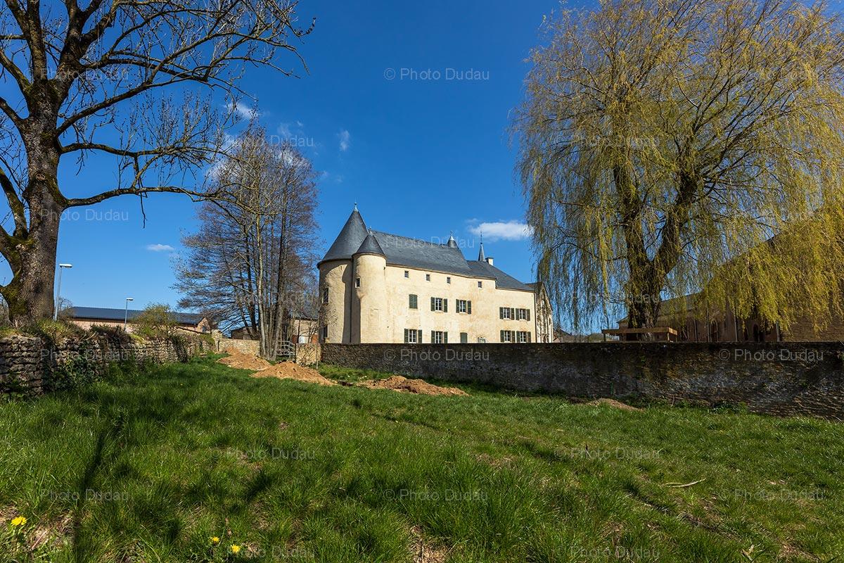 Aspelt castle in Luxembourg