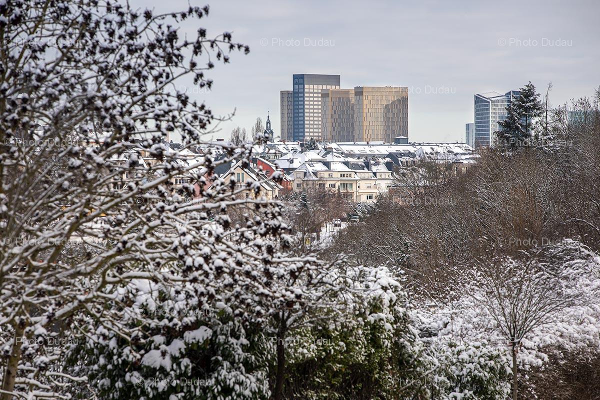 European Court of Justice in winter