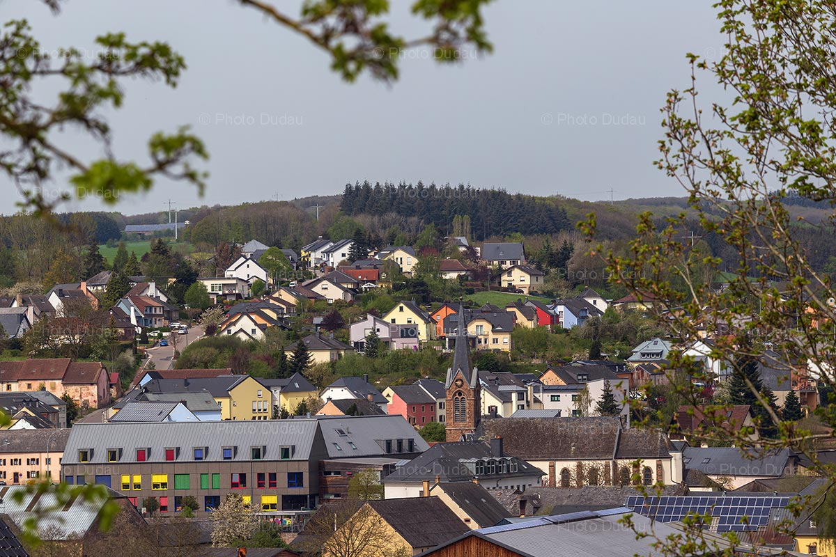 Feulen village in Luxembourg