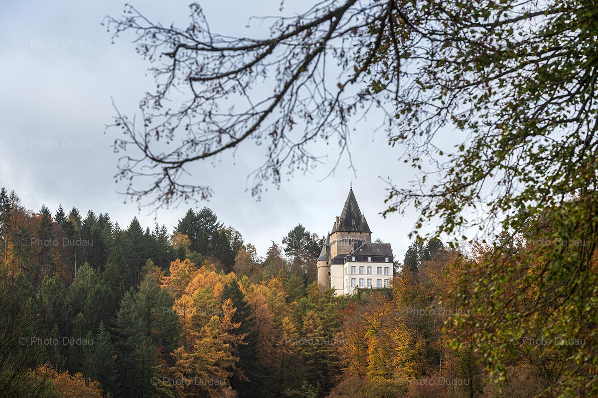 Hollenfels Castle in Luxembourg