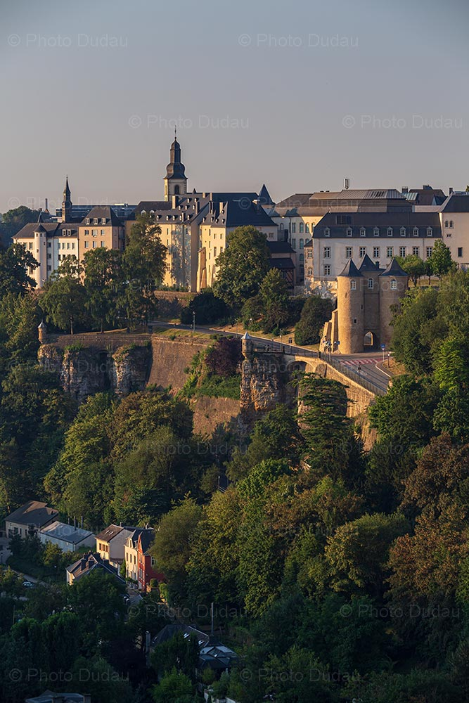 Ville Haute in Luxembourg city