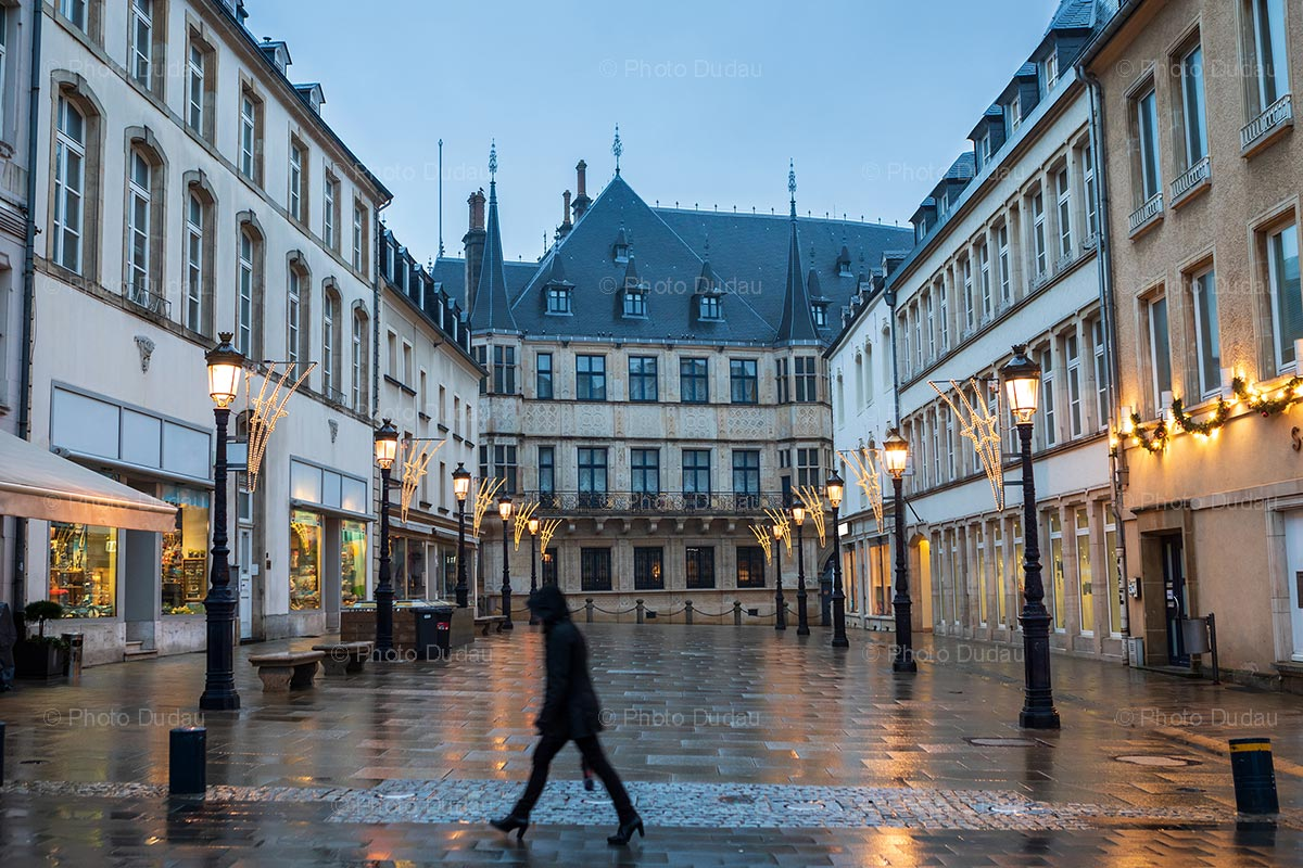 Grand Ducal Palace street scene