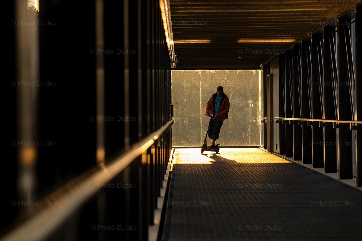Pfaffenthal passage at sunrise