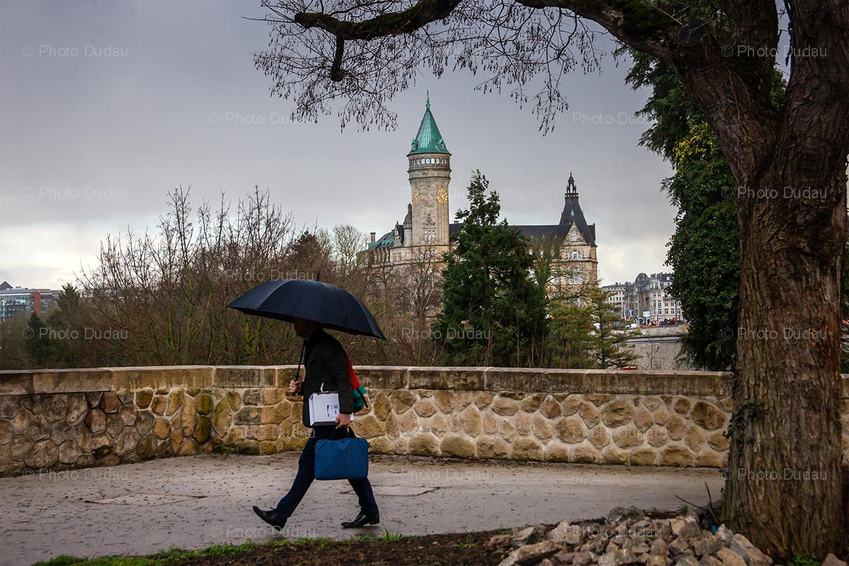 Street photography in Luxembourg city