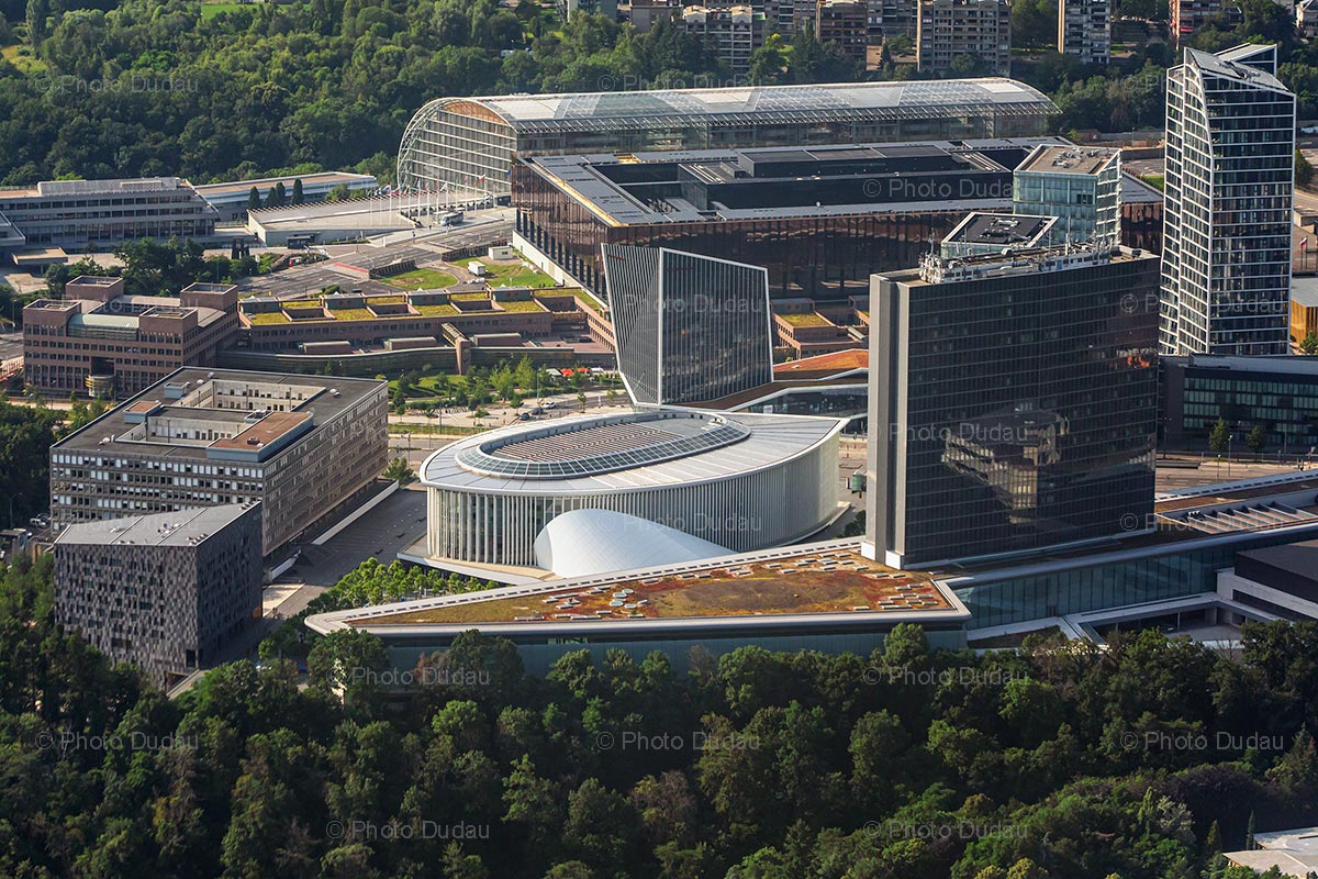 European Institutions in Kirchberg, Luxembourg