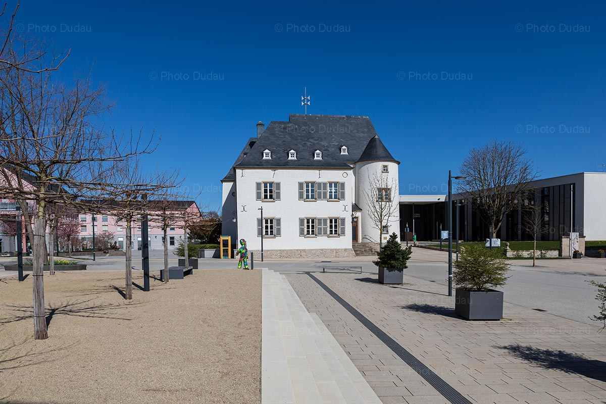 Schauwenburg Castle in Bertrange