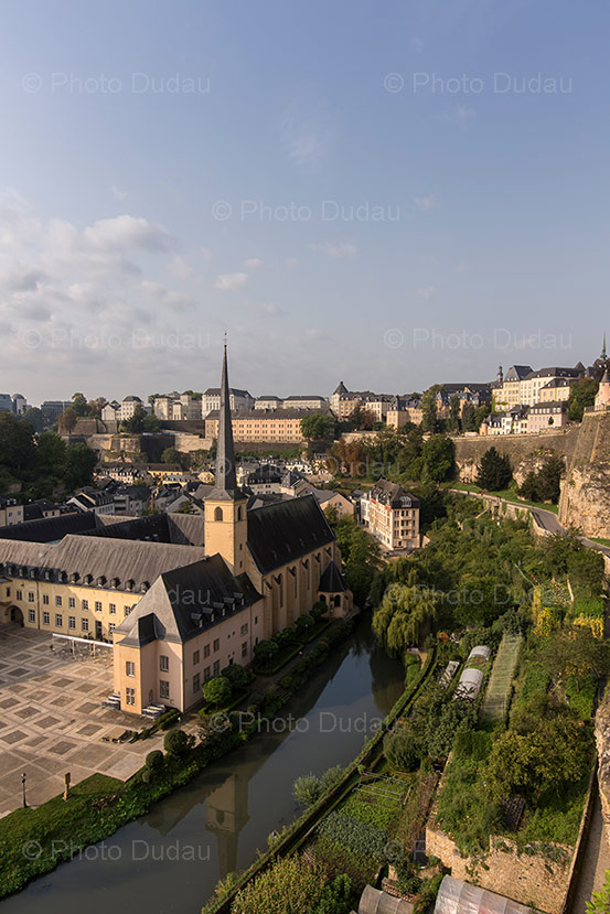 Abbaye de Neumunster in Grund, Luxembourg city.