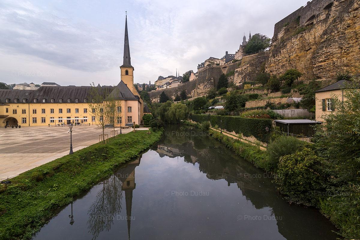 Abbaye de Neumunster Luxembourg city.