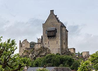 Larochette Castle Luxembourg