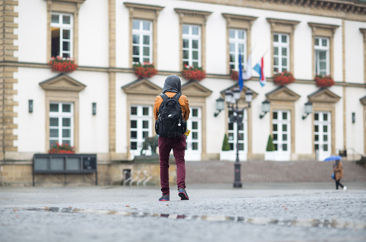 tourist in Luxembourg