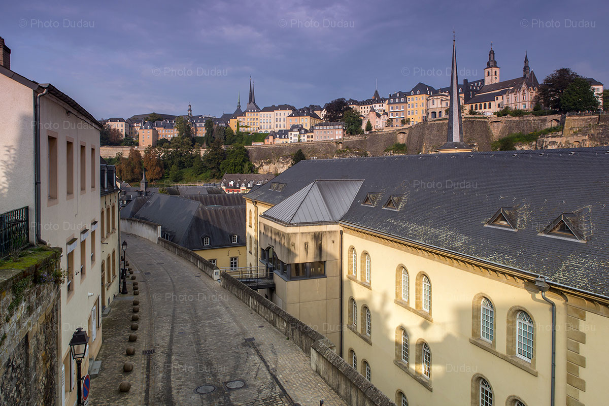 old town in Luxembourg