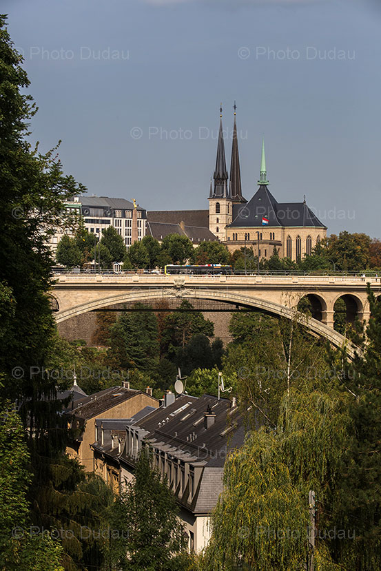 luxembourg landmarks stock photo