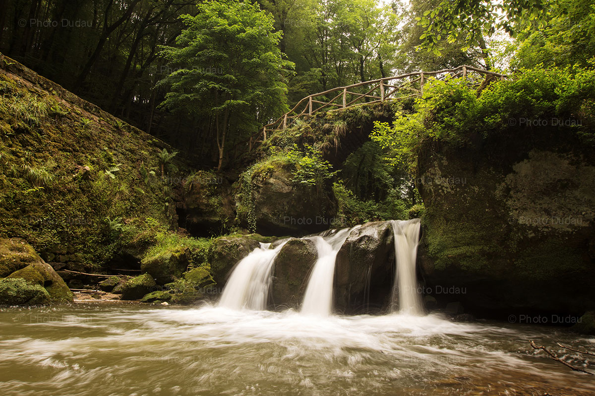 mullerthal cascade waterfall