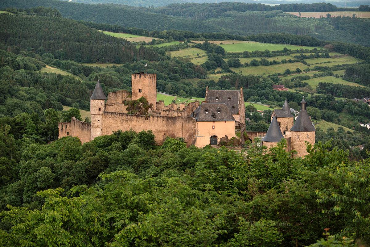 Bourscheid Castle Luxembourg.