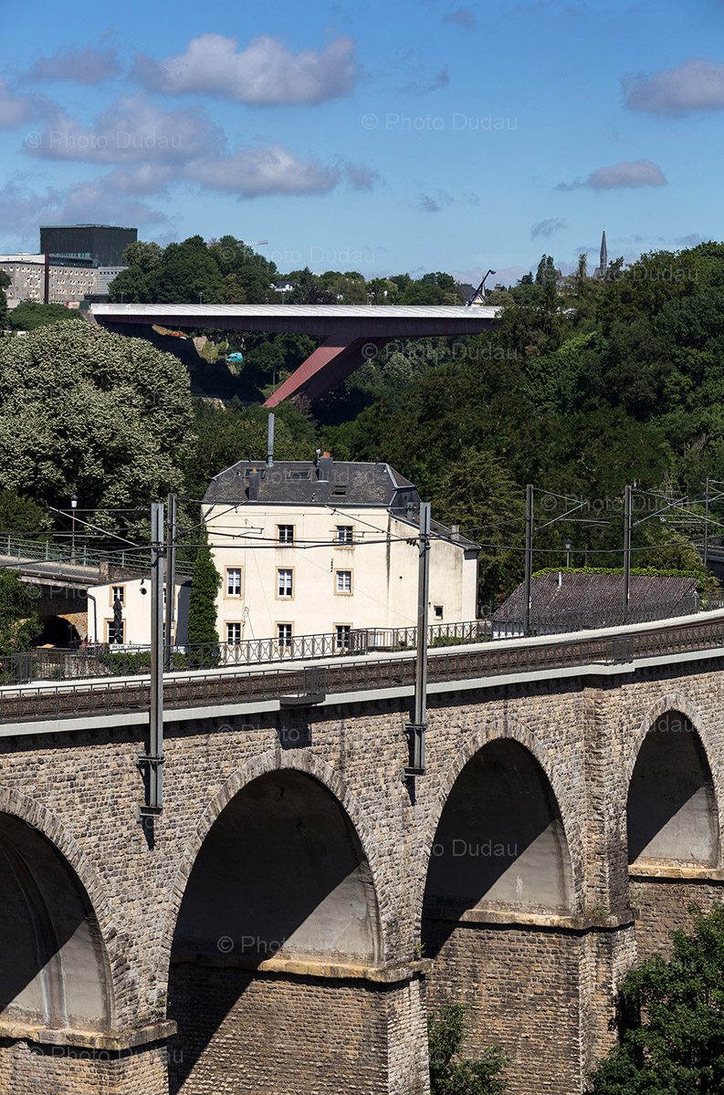 viaduct bridge luxembourg