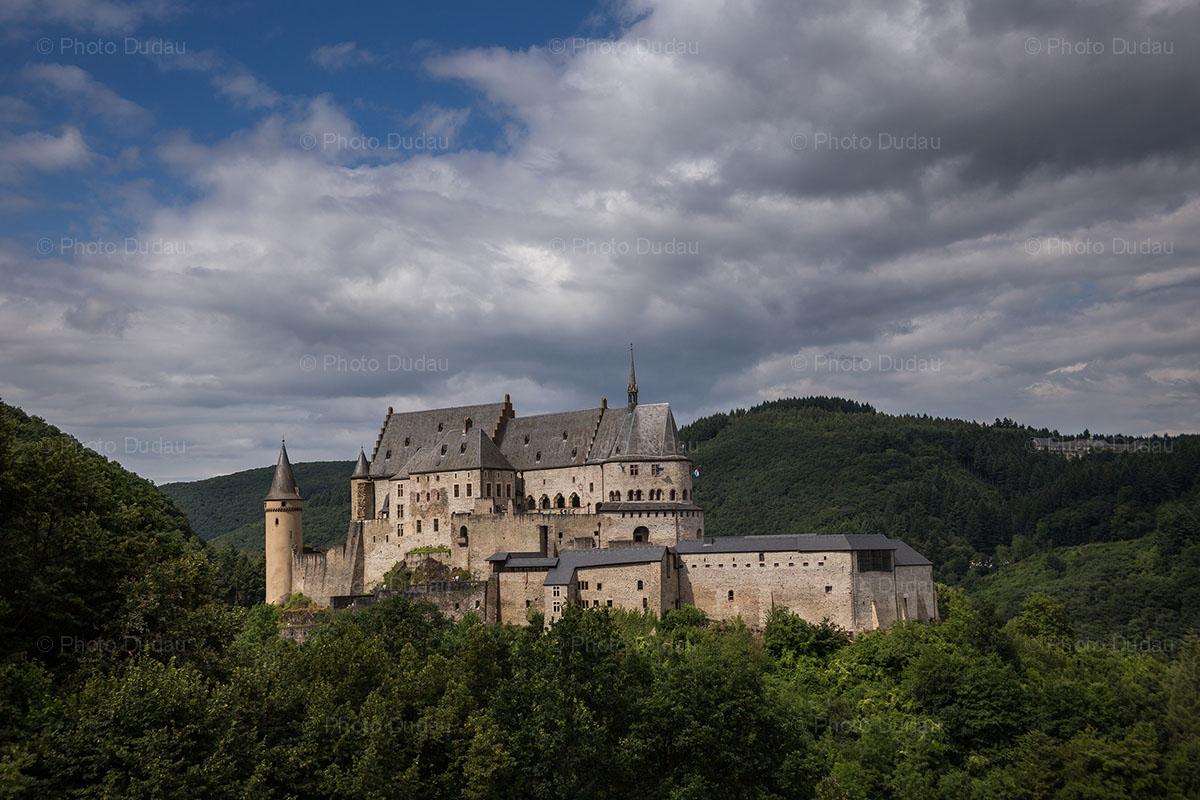 chateau Vianden castle luxembourg