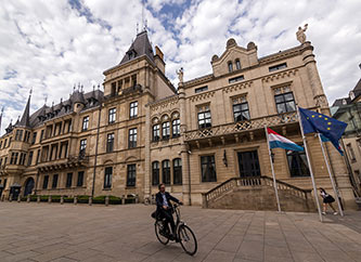 Grand Ducal Palace in central Luxembourg city.