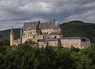 Chateau de Vianden castle