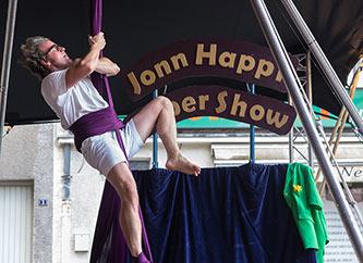 Jonn Happi performing at Ettelbrooklyn Street Fest in Ettelbruck